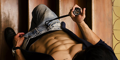 depilación de espalda masculina